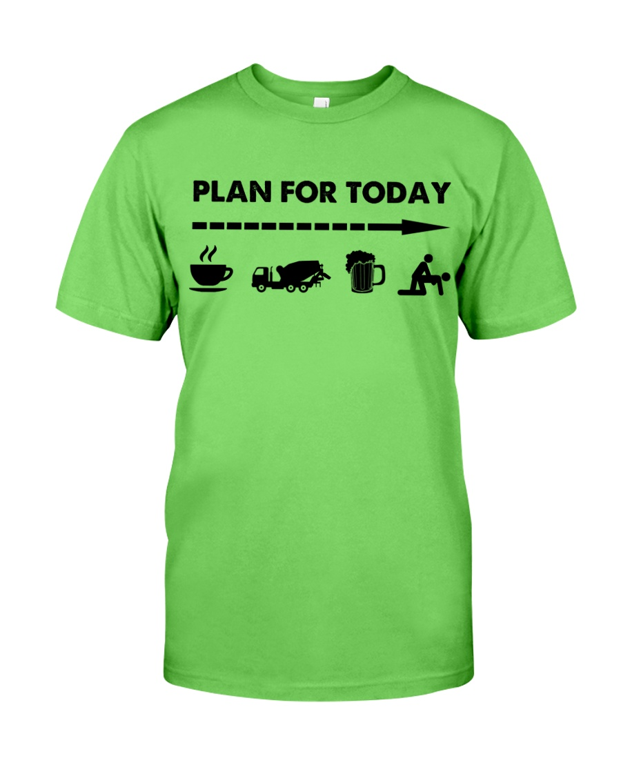 Concrete - Plan For To Day Classic T-Shirt