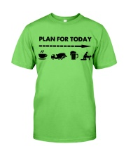 Concrete - Plan For To Day Classic T-Shirt front