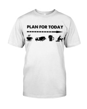 Concrete - Plan For To Day Classic T-Shirt tile