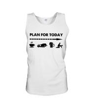 Concrete - Plan For To Day Unisex Tank thumbnail