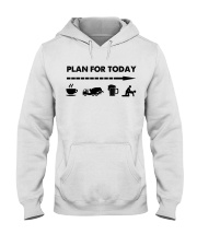 Concrete - Plan For To Day Hooded Sweatshirt thumbnail