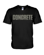 Concrete - Not For The Weak V-Neck T-Shirt thumbnail