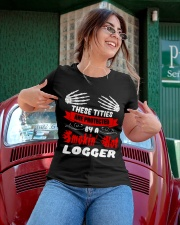 These Tities Are Protected By A LOGGER Ladies T-Shirt apparel-ladies-t-shirt-lifestyle-01