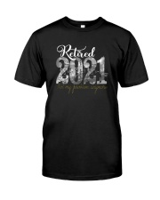 retired 2021 Classic T-Shirt front