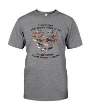 i like horses Classic T-Shirt front