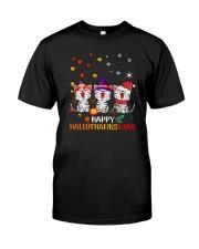 halloxmas cat Classic T-Shirt front