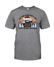 NAUGHTY LIST RABBIT Classic T-Shirt front