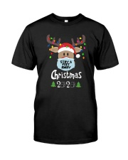 CHRISTMAS 2020 STAY 6FT AWAY Classic T-Shirt front