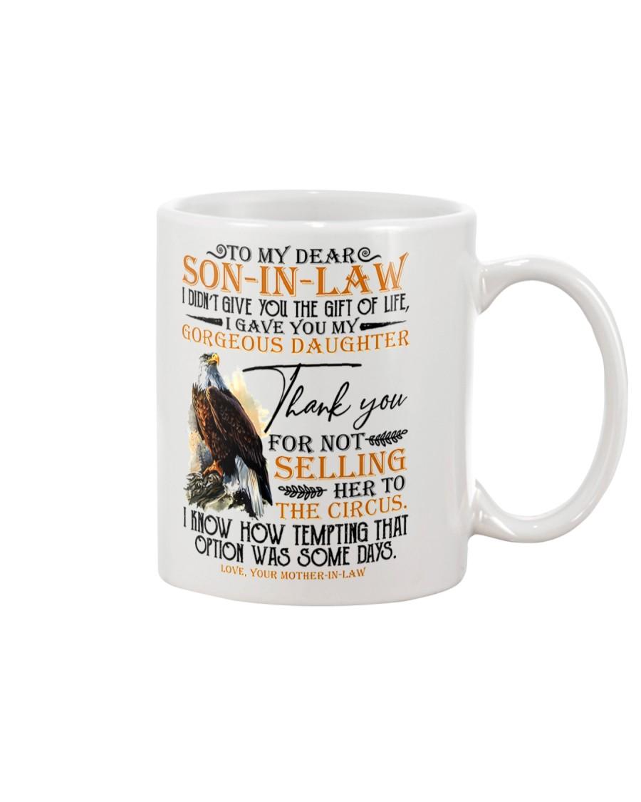 To My Dear Son in Law Mug