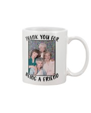 The Golden Girls Thanks for being a Friend Mug front
