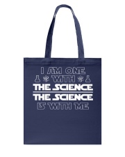 I am one with the science Tote Bag thumbnail