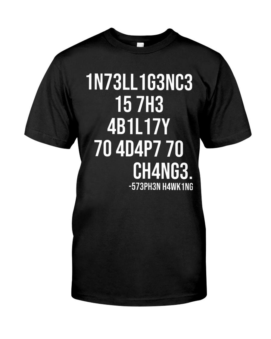 1n73ll1g3nc3 Classic T-Shirt