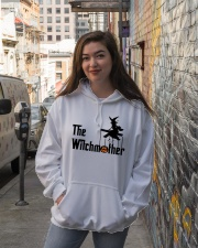 The Witchmother Hooded Sweatshirt lifestyle-unisex-hoodie-front-1