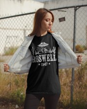 Roswell Alien Classic T-Shirt apparel-classic-tshirt-lifestyle-07