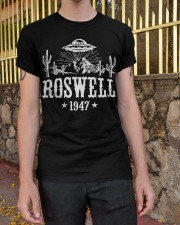 Roswell Alien Classic T-Shirt apparel-classic-tshirt-lifestyle-21