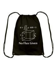 No Flux given Drawstring Bag thumbnail