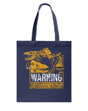 Skullcrawler Warning Tote Bag thumbnail