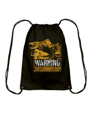 Skullcrawler Warning Drawstring Bag thumbnail