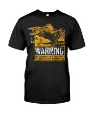 Skullcrawler Warning Classic T-Shirt front