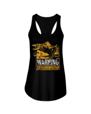 Skullcrawler Warning Ladies Flowy Tank thumbnail