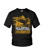 Skullcrawler Warning Youth T-Shirt thumbnail