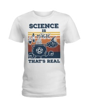 Science is Magic that's real Ladies T-Shirt thumbnail