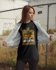 Be afraid of the Upside Down Classic T-Shirt apparel-classic-tshirt-lifestyle-07