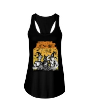 Halloween witch Ladies Flowy Tank thumbnail
