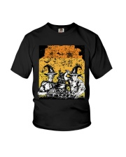 Halloween witch Youth T-Shirt thumbnail