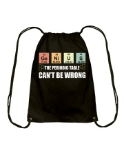 The periodic table can't be wrong Drawstring Bag thumbnail