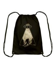 Bigfoot UFO Drawstring Bag thumbnail