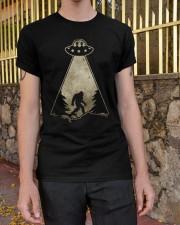 Bigfoot UFO Classic T-Shirt apparel-classic-tshirt-lifestyle-21