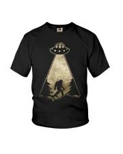 Bigfoot UFO Youth T-Shirt thumbnail