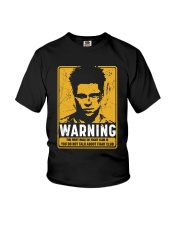 Fight Club Warning Youth T-Shirt thumbnail