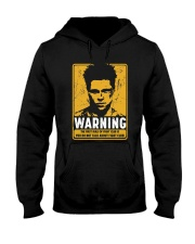 Fight Club Warning Hooded Sweatshirt thumbnail