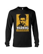 Fight Club Warning Long Sleeve Tee thumbnail