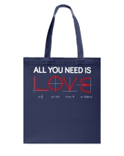 All you need is love Tote Bag thumbnail