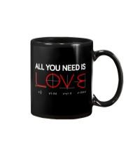 All you need is love Mug thumbnail