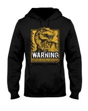 Dinasour warning Hooded Sweatshirt thumbnail