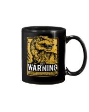 Dinasour warning Mug thumbnail