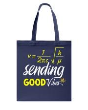 Sending good vibes Tote Bag thumbnail