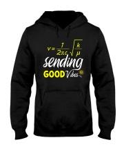 Sending good vibes Hooded Sweatshirt thumbnail