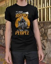 My broom broke Classic T-Shirt apparel-classic-tshirt-lifestyle-21