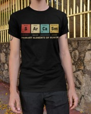 Sarcasm primary elements of humor Classic T-Shirt apparel-classic-tshirt-lifestyle-21