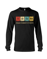 Sarcasm primary elements of humor Long Sleeve Tee thumbnail