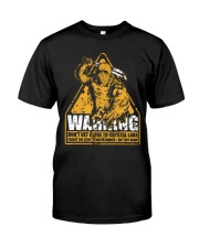Jason Voorhees Warning Classic T-Shirt front
