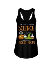 This witch needs science before any Hocus Focus Ladies Flowy Tank thumbnail