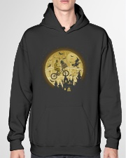 Halloween c3po-r2d2 Hooded Sweatshirt garment-hooded-sweatshirt-front-04