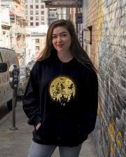 Halloween c3po-r2d2 Hooded Sweatshirt lifestyle-unisex-hoodie-front-1
