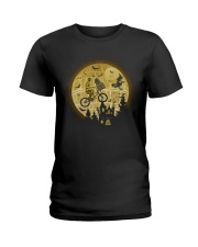 Halloween c3po-r2d2 Ladies T-Shirt tile